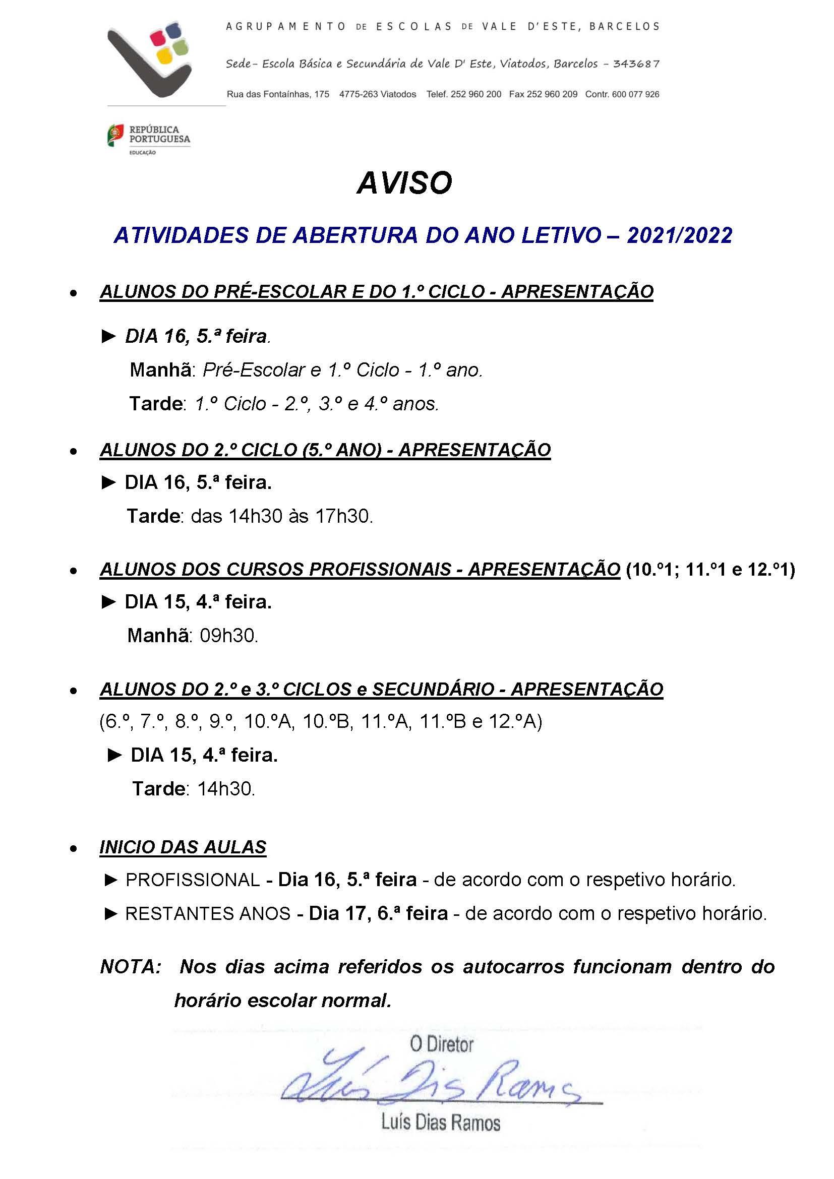 Aviso_Abertura_Ano_letivo_2021_2022